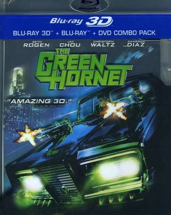 The Green Hornet 3D (Blu-ray + DVD)