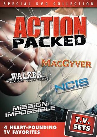 TV Sets - Action Packed - MacGyver / Walker,
