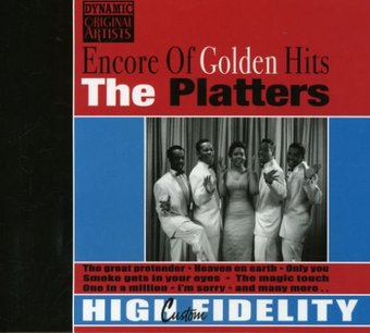 The Platters Encore Of Golden Hits Cd 2008 Good