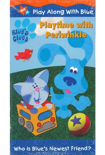 Blue's Clues: Playtime With Periwinkle VHS (2001) Starring ...