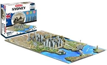 Sydney - History Over Time 3D Puzzle