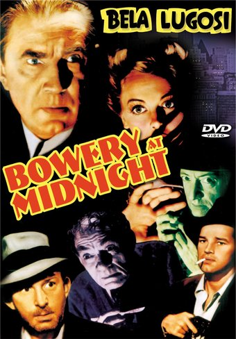 "Bowery At Midnight - 11"" x 17"" Poster"
