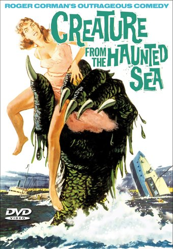 "Creature From The Haunted Sea - 11"" x 17"" Poster"
