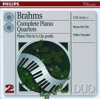 Brahms: Complete Piano Quartet (2-CD)