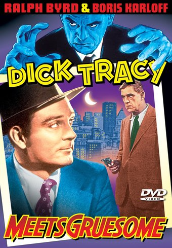 "Dick Tracy Meets Gruesome - 11"" x 17"" Poster"
