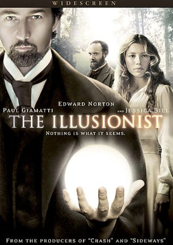 the illusionist widescreen dvd 2006 starring edward