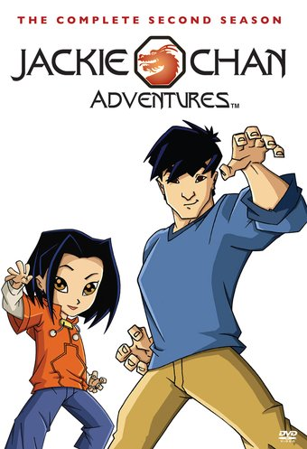 jackie chan adventures complete 2nd season 4 disc dvd r 2012 television on starring