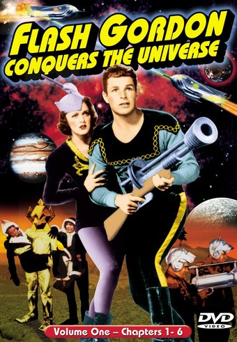 Flash Gordon Conquers The Universe, Volume 1