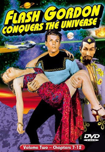 Flash Gordon Conquers The Universe, Volume 2