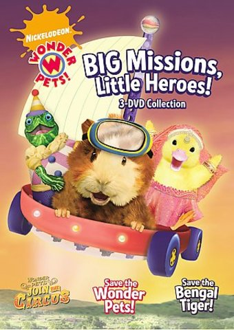 Wonder Pets - Big Missions, Little Heroes! (3-DVD)