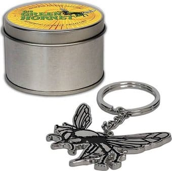Green Hornet - TV Hornet Keychain with Tin