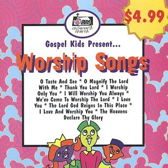 Gospel Kids Present...Worship Songs (2-CD)