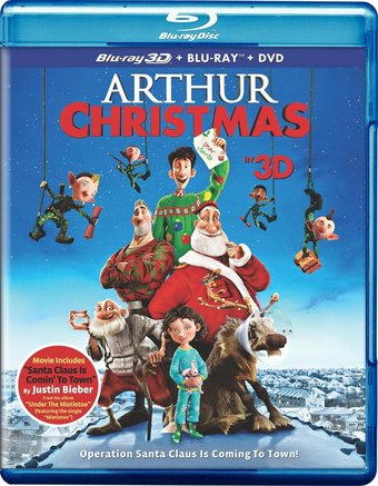 Arthur Christmas 3D (Blu-ray + DVD)