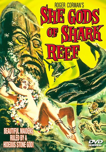 "She Gods of Shark Reef - 11"" x 17"" Poster"