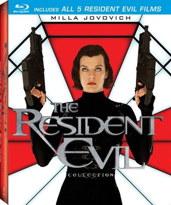 Resident Evil Collection (Blu-ray) (5-Disc)