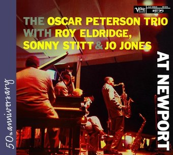 Roy Eldridge, Sonny Stitt and Jo Jones at Newport