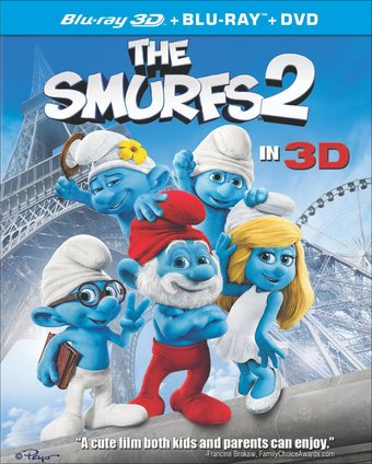 The Smurfs 2 3D (Blu-ray + DVD)