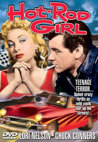 "Hot-Rod Girl - 11"" x 17"" Poster"