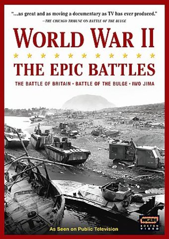 World War II: The Epic Battles (3-DVD)
