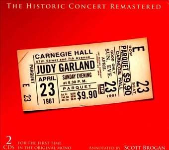 The Historic Carnegie Hall Concert (Live) (2-CD
