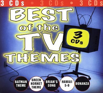 Best of the TV Themes (3-CD)