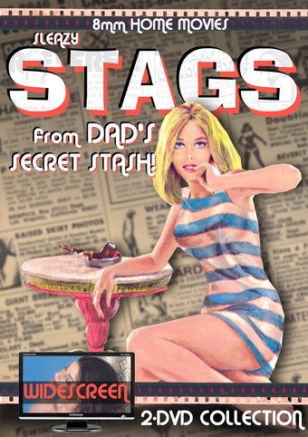 Sleazy Stags from Dad's Secret Stash (2-DVD)