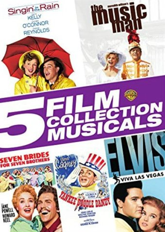 5 Film Collection Musicals 5 Dvd 2015 Warner Home