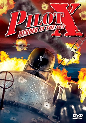 "Pilot X: Murder In The Sky - 11"" x 17"" Poster"