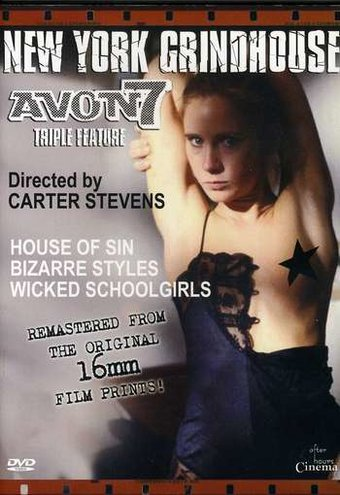 Wicked Schoolgirls Triple Feature (House of Sin /