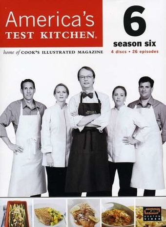 America's Test Kitchen - Season 6 (4-DVD)