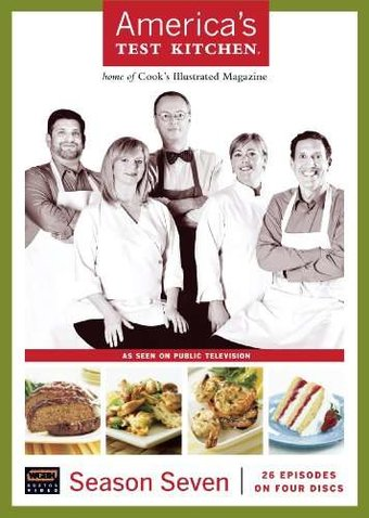America's Test Kitchen - Season 7 (4-DVD)