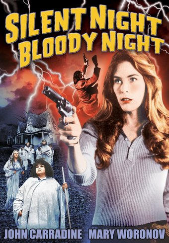 "Silent Night, Bloody Night - 11"" x 17"" Poster"