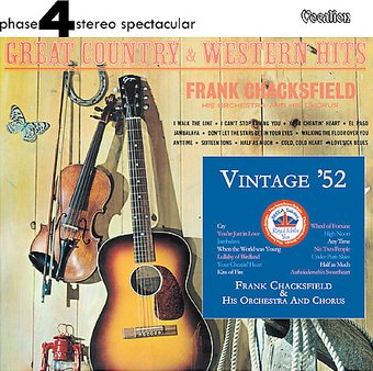 Vintage 52 Great Country & Western Hits
