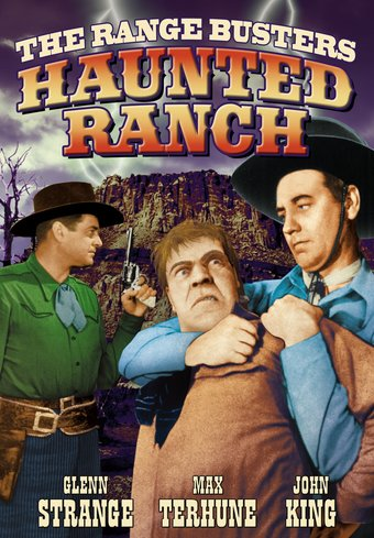"The Range Busters: Haunted Ranch - 11"" x 17"""
