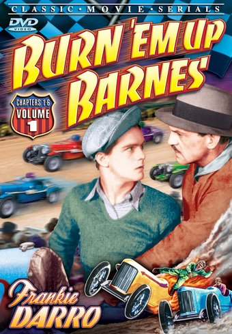 "Burn 'Em Up Barnes, Volume 1 - 11"" x 17"" Poster"