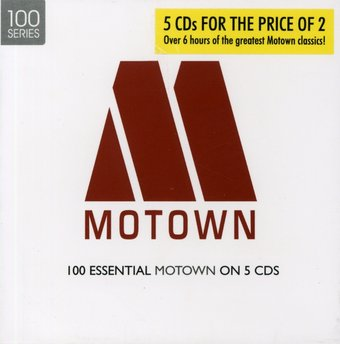 100 Essential Motown on 5-CDs (5-CD)