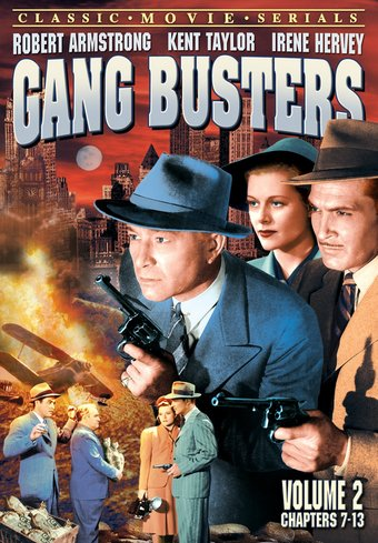 "Gang Busters, Volume 2 - 11"" x 17"" Poster"