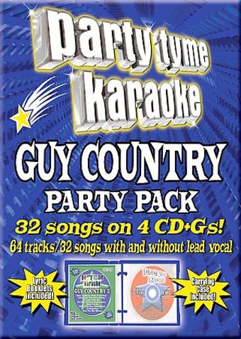 Party Tyme Karaoke: Guy Country Party Pack (4-CD)