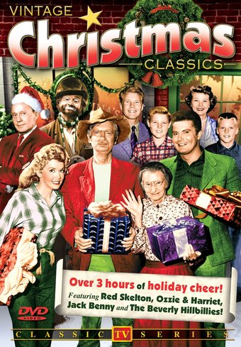 Vintage Christmas TV Classics - Volume 1 (Red