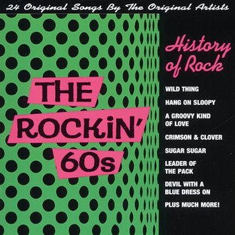 History Of Rock The Rockin 60 S Volume 1 Cd 1997