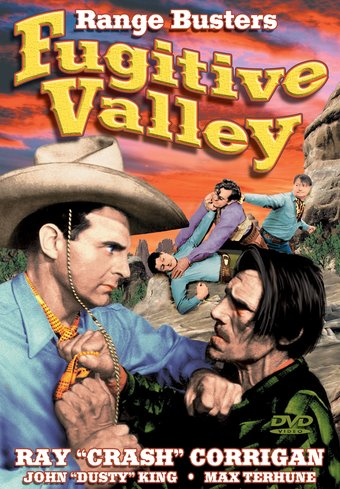 "The Range Busters: Fugitive Valley - 11"" x 17"""