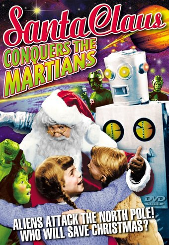 "Santa Claus Conquers The Martians - 11"" x 17"""