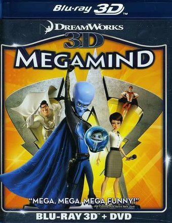 Megamind 3D (Blu-ray + DVD)