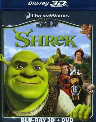 Shrek 3D (Blu-ray + DVD)