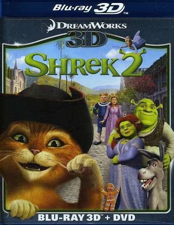 Shrek 2 3D (Blu-ray + DVD)