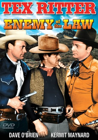 "The Texas Rangers: Enemy of The Law - 11"" x 17"""