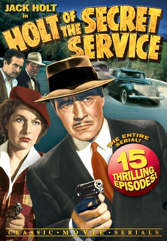 "Holt of The Secret Service - 11"" x 17"" Poster"