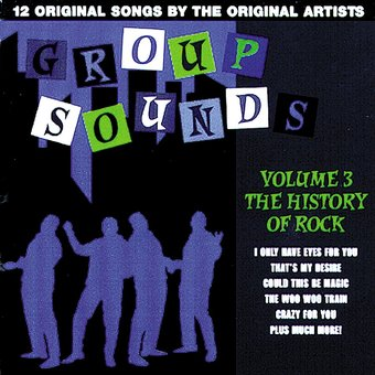 History of Rock - Group Sounds, Volume 3
