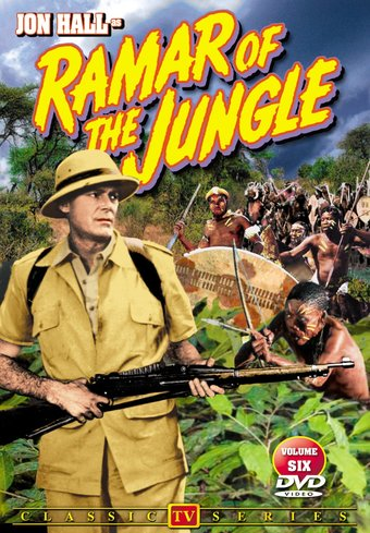 "Ramar of The Jungle, Volume 6 - 11"" x 17"" Poster"