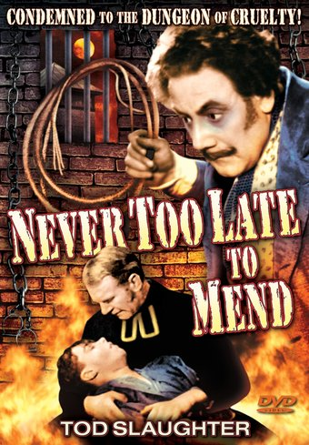 "Never Too Late To Mend - 11"" x 17"" Poster"